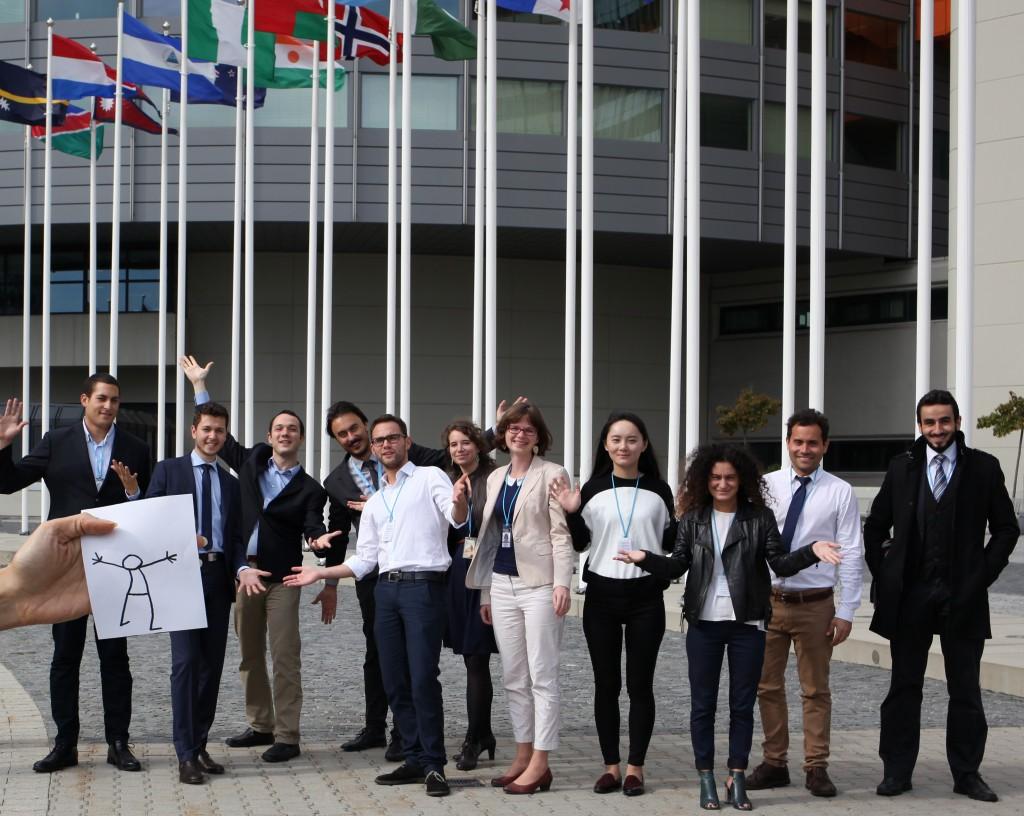 Elyx in Austria - Elyx meets UNIDO interns in Vienna