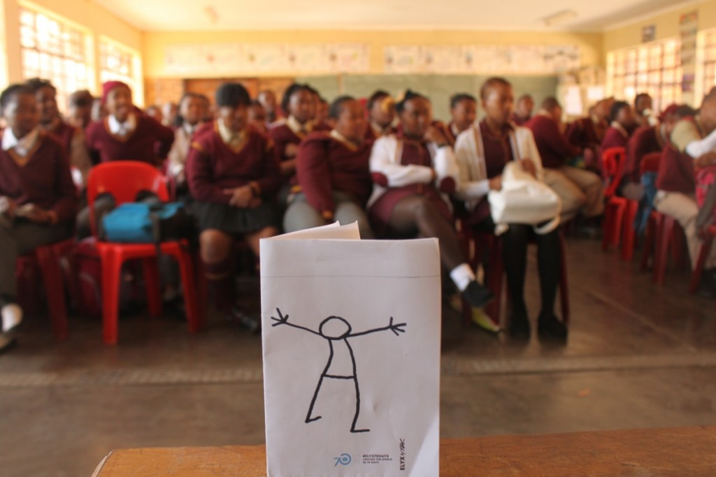 Elyx in South Africa - Picture 1 - Elyx visits Mosupatsela High School in Krugersdorp