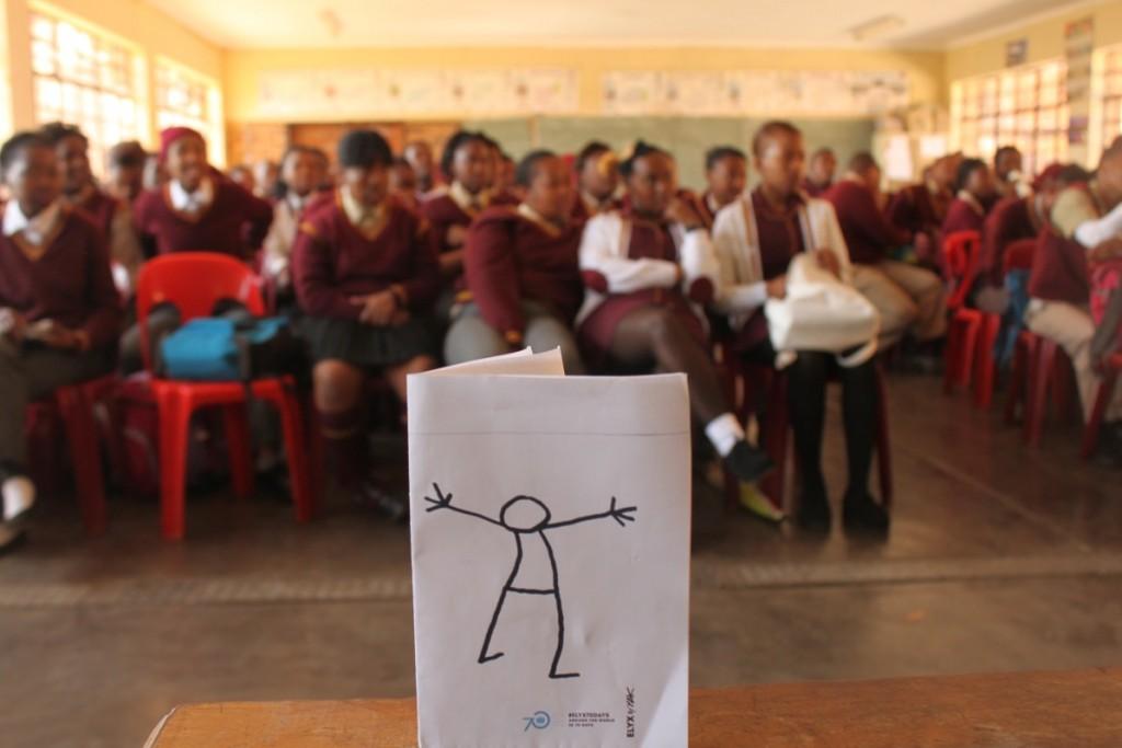 Elyx in South Africa - Picture 1 - Elyx visits Mosupatsela High School in Krugersdorp
