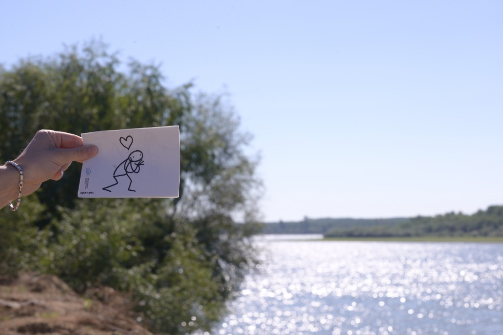 Elyx is amazed by the beauty of the Danube Delta