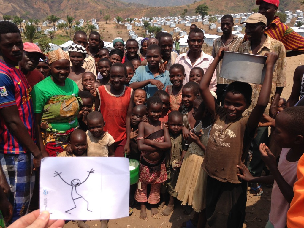 Lusenda camp in south kivu - Burundi refugees